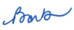 Thick Signature Barb's Pen
